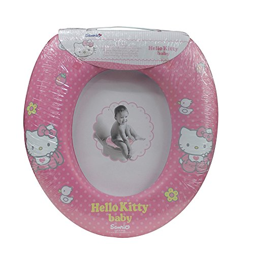Siège WC rembourré pour enfant Hello Kitty Formation