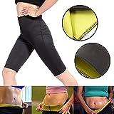 Rebeca Shop Pantalone Pants Snellente per Donna in noprende, Pantaloncino per Palestra Fitness Corsa...