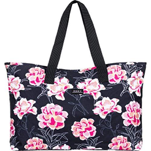 Roxy Damen Wildflower Printed Large Tote Bag Tragetasche, North Atlantic Heritage Haw S, Einheitsgröße