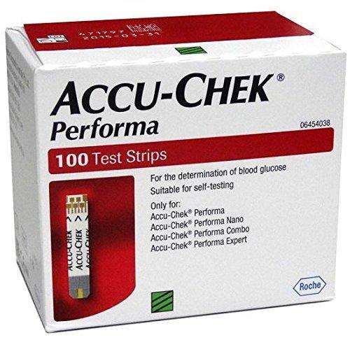 Accu-Chek Performa 100Blutzucker-Teststreifen; TM79F-32M UGBA447903