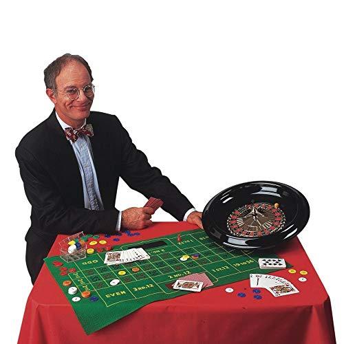 CHH 5000XXL 40,6 cm Roulette und Blackjack Set, schwarz, grün