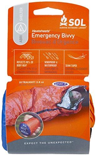 S.O.L. Survive Outdoors Longer S.O.L. 90% Reflective Lightweight Emergency Bivvy