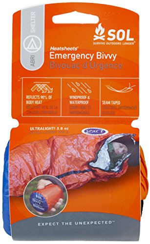 S.O.L Survive Outdoors Longer S.O.L. 90% Reflective Lightweight Emergency Bivvy