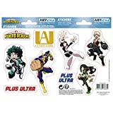ABYstyle - MY HERO ACADEMIA - Stickers - 16x11cm - UA High School