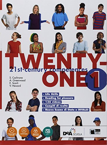 Twenty-one. Student's book-Workbook. Con Map it! Per la Scuola media. Con ebook. Con espansione online. Con DVD-ROM: 1