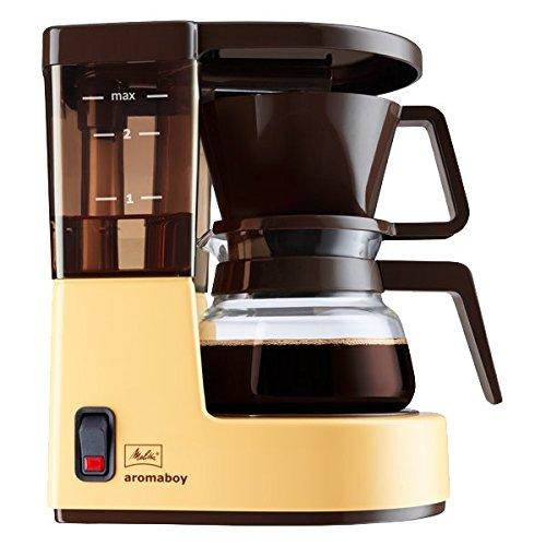 Melitta 1015-03 Aromaboy Filter-Kaffeemaschine, Beige/Braun