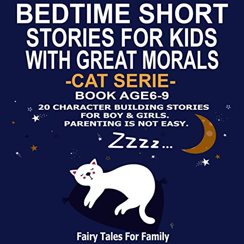 Bedtime Short Stories for Kids with Great Morals cover art