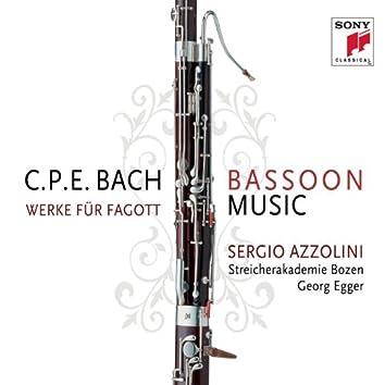 C.P.E. Bach: Bassoon Music / Werke für Fagott