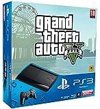 Console PS3 Ultra slim 500 Go noire + GTA V