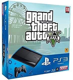 Console PS3 Ultra slim 500 Go noire + GTA V (B00DZG3CH4) | Amazon price tracker / tracking, Amazon price history charts, Amazon price watches, Amazon price drop alerts