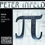Peter Infeld Violin D String with Synthetic Core Silver Winding - Medium Gauge