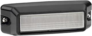 Federal Signal IPX620B-WA IMPAXX LED Exterior/Perimeter Light, Class 1, CAC Title 13, Surface Mount, Clear Off-Axis Lens with Amber/Clear LEDs
