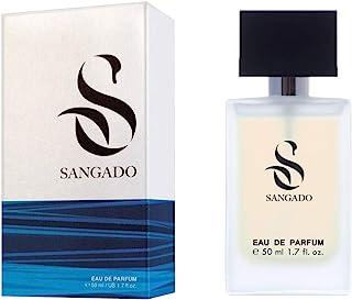 SANGADO Irresistible Perfume para Hombres Larga Duración de 8-10 horas Olor Lujoso Oriental Fougère Francesas Finas E...
