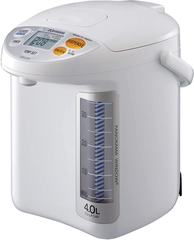 Zojirushi CD-LFC40 Panorama Window Micom NEW Water Warmer Boiler and Japan Maker New