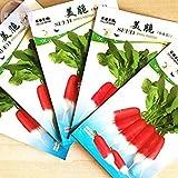 2018 davitu ravanello corpo rosso bianco organico radice vegetable seeds, 5 confezioni, 60 semi/pack, swwet croccanti verdure in rapida crescita