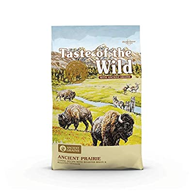 Taste of the Wild High Protein Real Meat Recipe Premium Dry Dog Food with Roasted Bison and Roasted Veniso