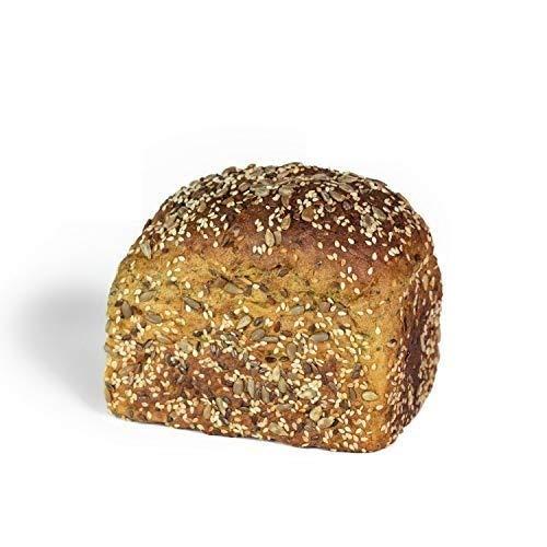 KetoUp: Frisches Low Carb Mehrkornbrot | Ketogene und Low Carb Ernährung | Sportnahrung | Gesunde Ernährung | enthält maximal 3% Kohlenhydrate - 500g