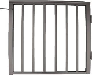 Contractor Deck Railing 36in x 36in Aluminum Residential Gate - Bronze
