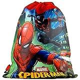 Disney Marvel Spider-Man 14-inch Sling Bags Drawstring Cinch Sack Totes