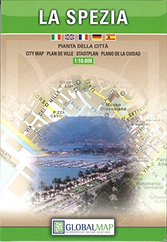 La Spezia, Italy - City Map (English, Spanish, French, Italian and German Edition)