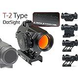 【AimpointタイプB】マイクロ T-2 ドットサイト《エアガン市場限定モデル》《選べる4パターン!》《Aimpoint Type Micro T-2 DotSight (QD・Highマウント)