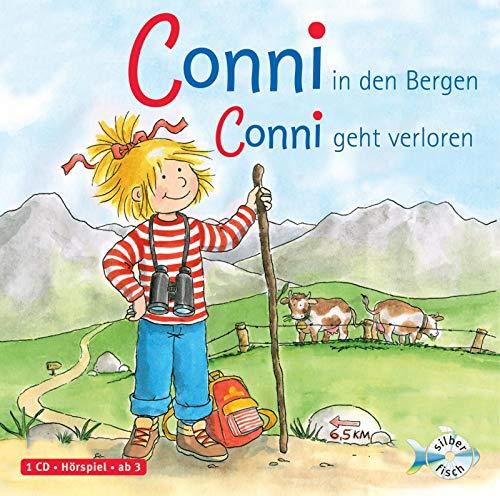 Conni in den Bergen / Conni geht verloren (Meine Freundin Conni - ab 3 ): 1 CD