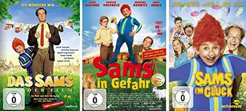 Das Sams / Sams in Gefahr / Sams im Glück im Set - Deutsche Originalware (3 DVDs)