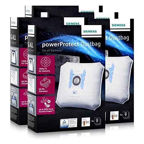 Siemens Staubsaugerbeutel powerProtect VZ41FGALL - Typ G ALL (5er Pack)