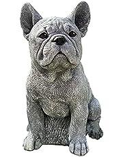NRRN Angel Pet Standbeeld,Slapen Memorial Grave Marker Eerbetoon Standbeeld Hond/Kat in Engel's Vleugel Hars Outdoor Tuin
