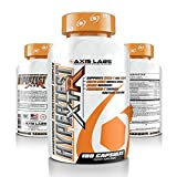 Axis Labs | Hypertest XTR Testosterone Complex | Male Hormone Enhancer and Booster | Increase Muscle and Bone Mass | Heightened Libido, Stamina, Strength and Endurance | 30 Servings | 180 Capsules