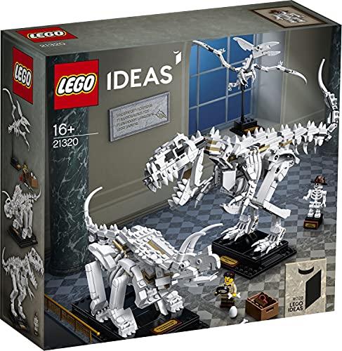 LEGO Ideas 21320 - Dinosauri, gioco di costruzione