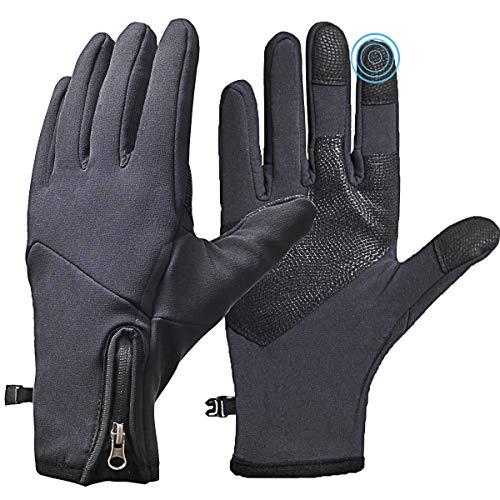 COTOP Guantes de ciclismo invierno, guantes de pantalla táctil para...