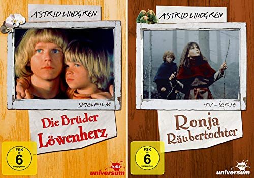 Astrid Lindgren Edition: Die Brüder Löwenherz + Ronja Räubertochter - TV-Serie [2er DVD-Set]