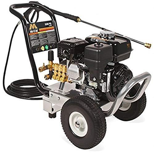 Mi-T-M WP-3200-0MHB Wp-3200-0Mhb Wp (Work Pro) Series Pressure Washer, Gasoline Direct Drive, 3200 Psi, 2.4 Gpm, 196 Cc Honda Ohv Engine