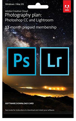 Adobe Creative Cloud Foto-Abo mit 20GB: Photoshop und Lightroom | 1 Jahreslizenz | PC/Mac | Key Card & Download|PC/Mac|1 Jahreslizenz|1 Jahreslizenz|PC/MAC|Download|Download