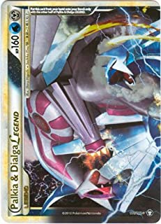 Pokemon Legend HS4 Triumphant Single Card Palkia & Dialga LEGEND Top #101 Rare Holo