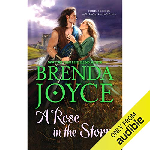 A Rose in the Storm audiobook cover art