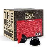 Note d'Espresso Italiano - Cápsulas para las cafeteras Nescafe Dolce Gusto, Red Raspberry Tea, 48 unidades de 14 g