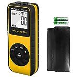 Tacómetro Digital INFURIDER, Medidor de RPM de Mano Sin Contacto YF-9235C Tacómetro Láser con Alta Precisión +/- 0.01% para Medir la Velocidad del Motor de Rotación de la Foto