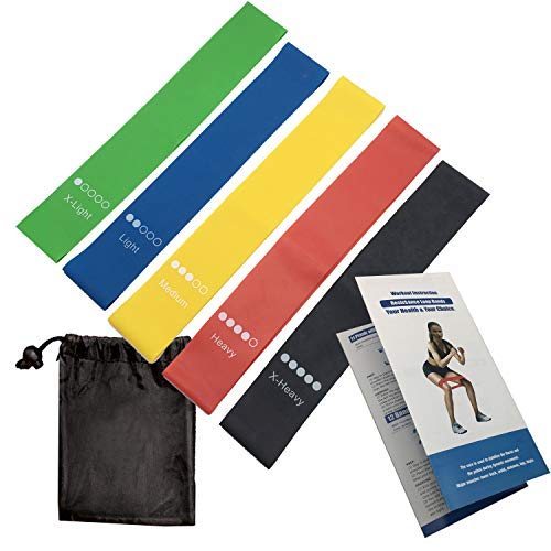 Resistance Bands,Exercise Bands,Yoga Pull Ring,Natural Latex Workout Bands for Fitness, Stretching,Resistance Loop Bands Set, Resistance Exercise Bands Set Elastic Bands, Strength Training,Pilates