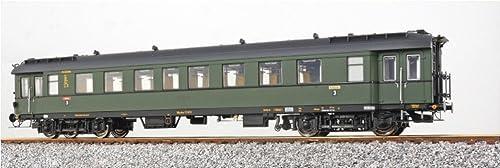 ESU 36145 Eilzugwagen DRG C4i-36, 73813-Mü, FlaschenGrün, Sc