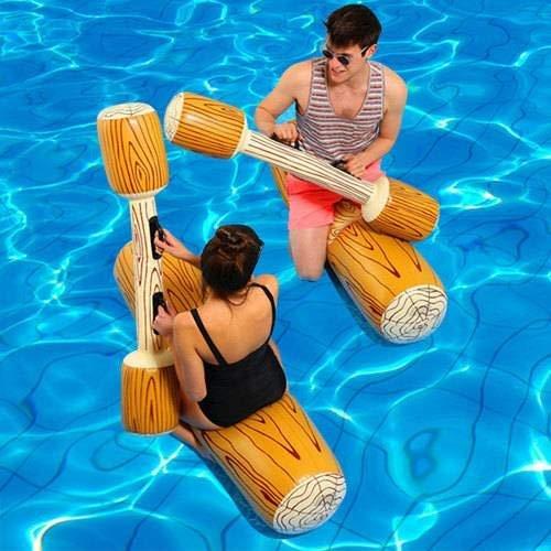 Schwimmring baby 4Pcs/Set Joust Pool Float Spiel Aufblasbare Wasser Sport Bumper Spielzeug für Erwachsene Kinder Party Gladiator Raft Kickboard