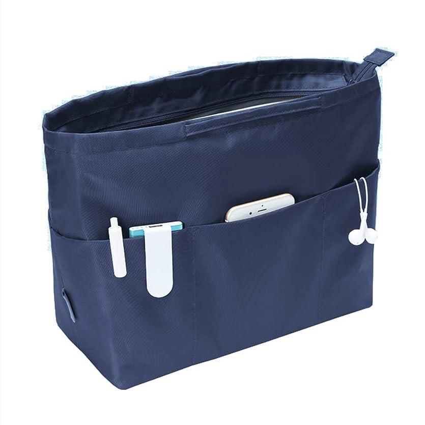 うま契約したハミングバード13ポケット 大容量 バッグインバッグ バックインバック 大きめ レディース メンズ 収納バッグ 出勤 インナーバッグ A4 整理 仕切り