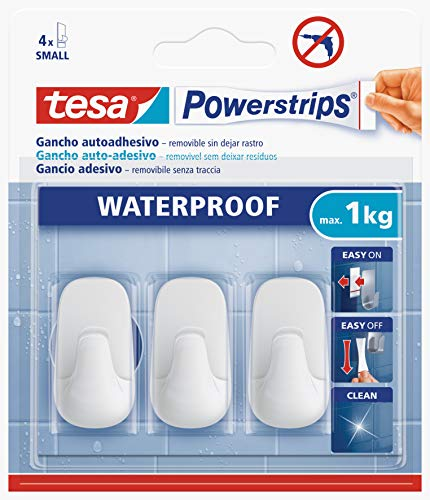 Tesa 59782-00001-00 59782-00001-00-Gancho plástico