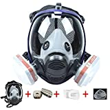 Best Gas Masks - 15 in1 Full Facepiece Respirators, Gas Mask Respirator Review