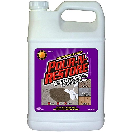 Best concrete oil stain remover