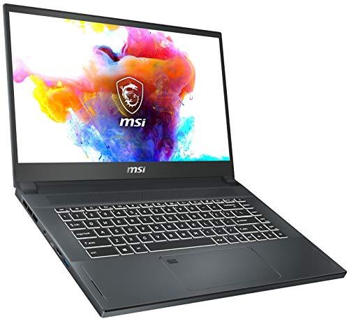 MSI Creator 15 A10SGS-040 15.6″ 4K Ultra HD VR-Ready Gaming Notebook Computer, Intel Core i7-10875H 2.3GHz, 32GB RAM, 2TB SSD, NVIDIA GeForce RTX 2080 Super Max-Q 8GB, Windows 10 Pro