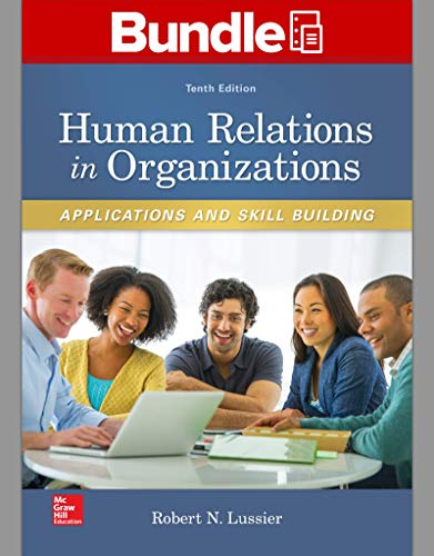 Gen Combo LL Human Relations in Organizations; Connect Access Card