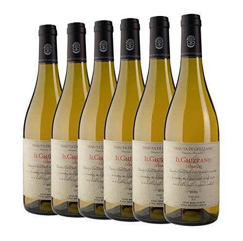 Tenuta di Ghizzano - Il Ghizzano Bianco 2019 - Vino Blanco Italiano I.G.T. Costa Toscana. Fino, Ecológico, Orgánico, Biodinámico Certificado Demeter. Caja de 6 Botellas