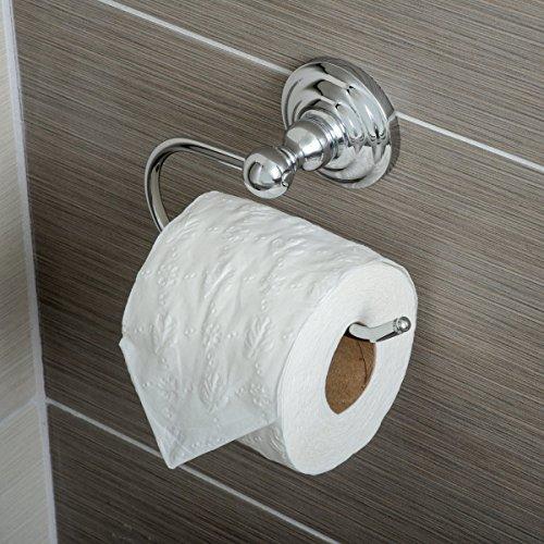 AmazonBasics - Klassischer Standard-Toilettenpapierhalter 2